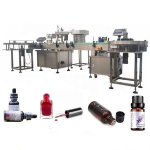Машина за полнење на шишиња со есенцијално масло од 3 KW со вшмукувачки уред против капење