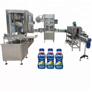 6 машина за полнење шишиња сос од главата
