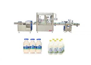 Автоматска машина за полнење течности и капаци за 250ml 500ml