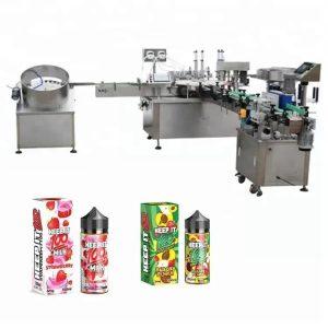 Автоматска машина за полнење течности за 10 ml