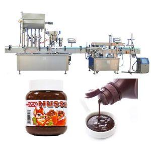 Автоматска машина за полнење шишиња сос од домати 10мл