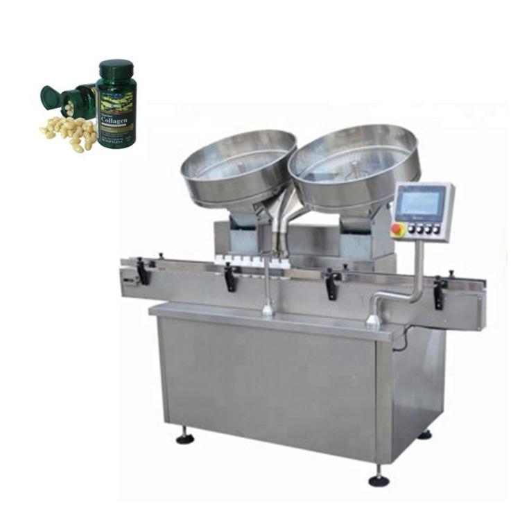 Автоматска машина за полнење таблети за капсули со таблети од не'рѓосувачки челик