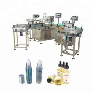 Машина за полнење течност за шишенце со шишенце