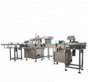 Автоматско полнење и машина за ширење шишиња со голем капацитет