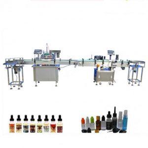 PLC Контрола за електронска течна машина за полнење за стакло Dropper