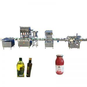 PLC контрола машина за полнење со есенцијално масло