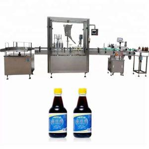 PLC контролна машина за шишиња со шише за контрола на шише со 4 млазници
