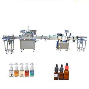 Машина за полнење парфеми за шишиња за стакло со шипки