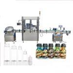 Серво машина за полнење шишиња со серво мотор, машина за парфем за контрола на екран на допир