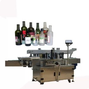 Предна и задната ознака машина за шишиња