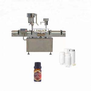 Машина за затворање шишиња од не'рѓосувачки челик што се користи во медицината
