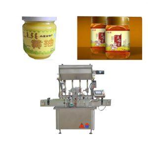 Машина за полнење на мед на екран на допир